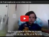 Un copil de 3 ani explica de ce nu e bine sa mananci carne